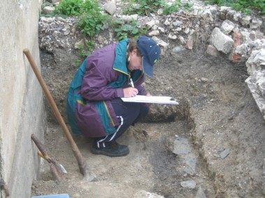 Student evaluation trench,Tidemills